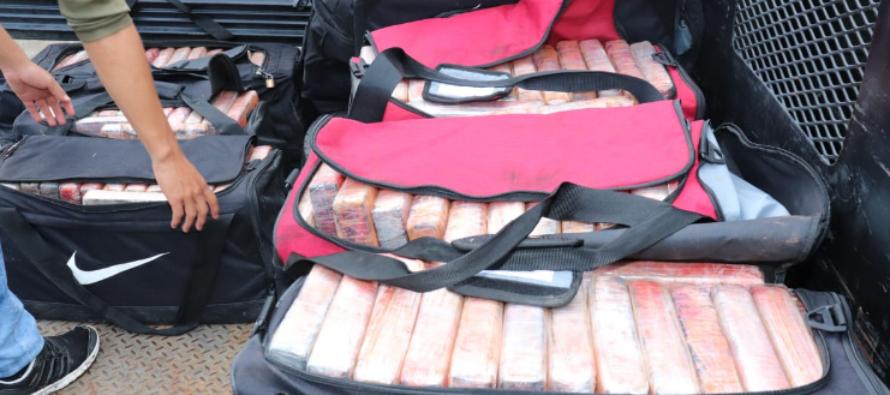 Autoridades panameñas incautaron 1500 paquetes de cocaína provenientes de Cuba