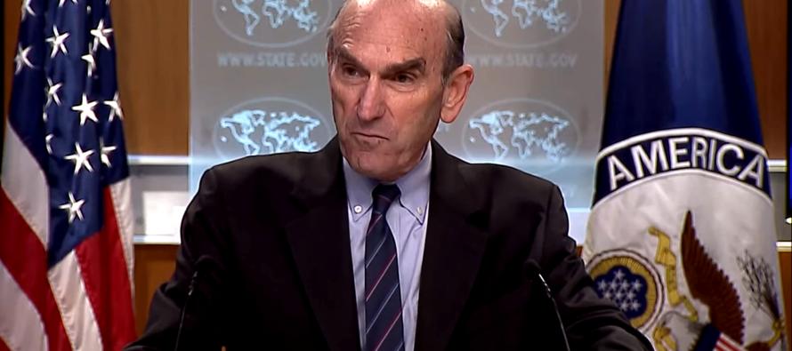 Elliot Abrams: Departamento de Estado desaprueba acercamiento de Prince y Giuliani con Venezuela