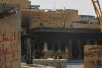 Tres cohetes colisionaron cerca de la embajada de EEUU en Bagdad