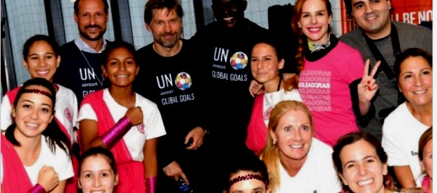 Consolidan proyecto de empoderamiento e inclusión infantil a través del fútbol