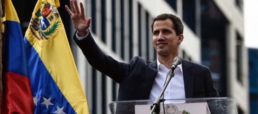 One Young World reconoció a Juan Guaidó como joven político del año