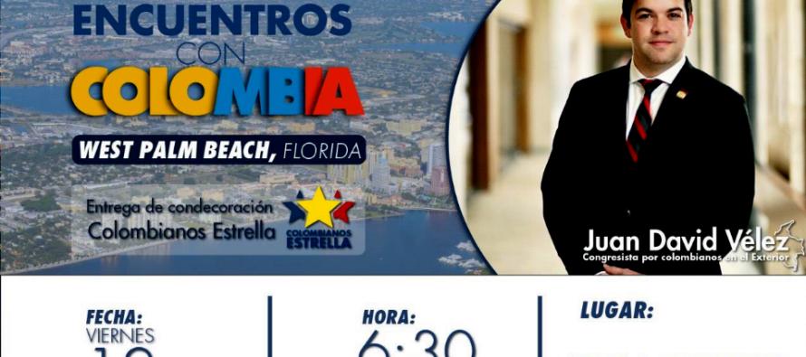 No deje de asistir a la reunión «Encuentros con Colombia» en West Palm Beach