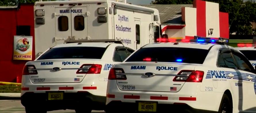 Policía resultó herido durante persecución en Biscayne Boulevard