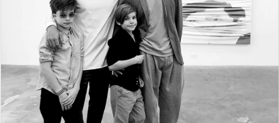 Ricky Martin presentó a su cuarto hijo con una adorable fotografía