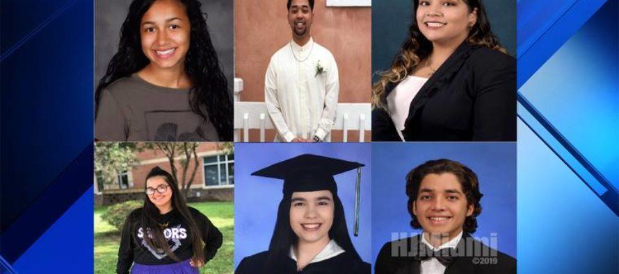 En Florida 6 estudiantes latinos recibieron becas universitarias de McDonald's