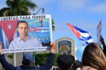 En Miami: Exilio cubano se concentró por la liberación de Daniel Ferrer y la Dama de Blanco Xiomara Cruz
