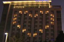 ¡Bonito gesto! Hotel de Miami dibujó un corazón desde sus habitaciones para que la gente mantenga la esperanza ante el brote del Covid-19