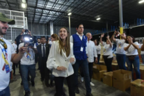 Fabiana Rosales pidió en Miami no detener recolección de ayuda humanitaria para Venezuela