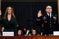 Testifican ante el congreso asesores de la Casa Blanca sobre la «inapropiada» llamada que realizó Trump a Ucrania