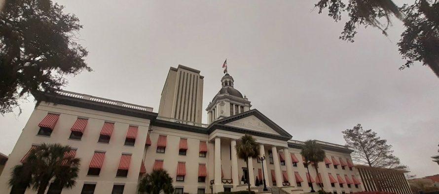 Asociación de Educación de Florida (FEA) vistió de rojo el Viejo Capitolio