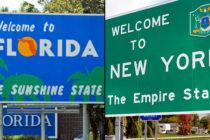 Conoce las grandes diferencias fiscales entre Nueva York y Florida