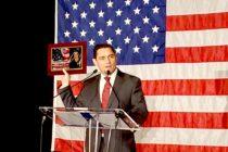 Embajador Carlos Vecchio recibe premio a la libertad Ronald Reagan