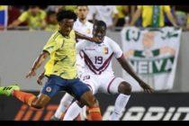 Lo hicieron de nuevo: Venezuela y Colombia empataron 0-0