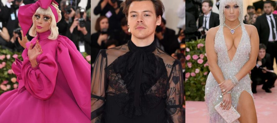 Extravagantes trajes se impusieron en la gala Met 2019