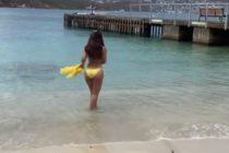 Gelena Solano festejó el Memorial Day con este espectacular bikini en las Islas Vírgenes (Fotos)