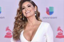 Chiquinquirá Delgado expuso uno de sus senos vistiendo un atrevido vestido (FOTOS)