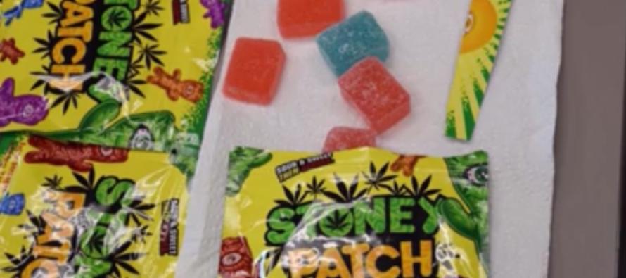 Incautan marihuana comestible con apariencia de caramelos