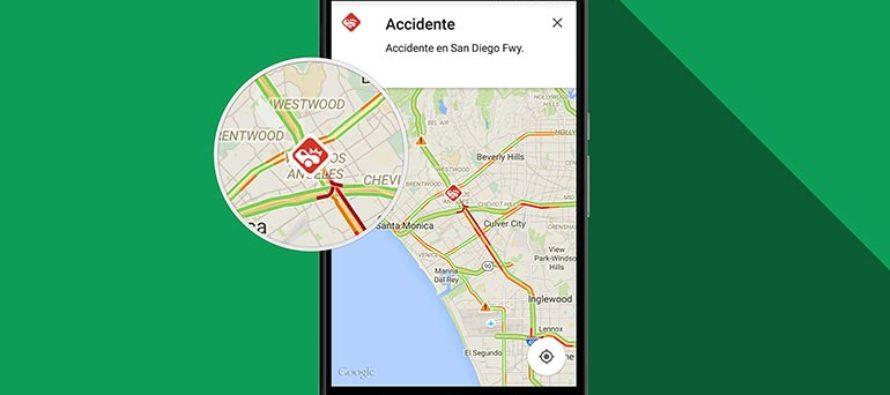 Google Maps te permite conocer la velocidad mientras manejas