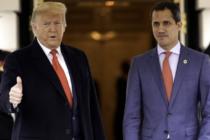 El presidente Donald Trump y su homólogo Juan Guaidó se reúnen en la Casa Blanca
