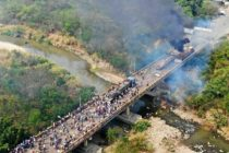 Represión por ingreso de ayuda humanitaria deja varios heridos en Venezuela