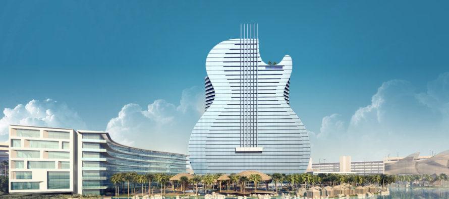 ¡Único en el mundo! Florida tendrá hotel en forma de guitarra