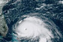 Huracán Dorian bajó a Categoría 4 cuando tocó tierra en Gran Bahama