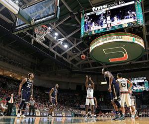 Miami:  una de las peores ciudades para los fanáticos del baloncesto universitario