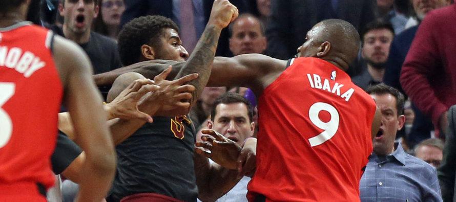 Duelo de NBA termina en tremenda pelea de boxeo (Video)