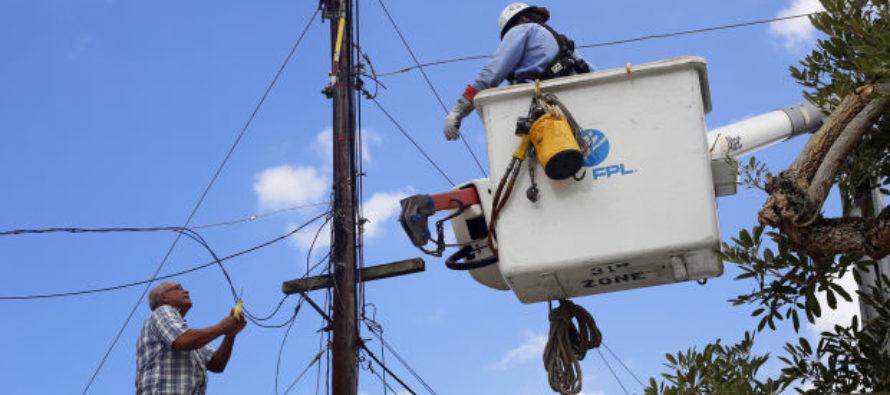 Florida Power & Light prepara a sus empleados para restablecer el servicio ante la temporada de huracanes