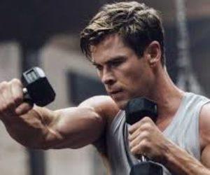 ¡Por poco tiempo! Chris Hemsworth comparte rutinas de entrenamiento con artículos que tienes en casa