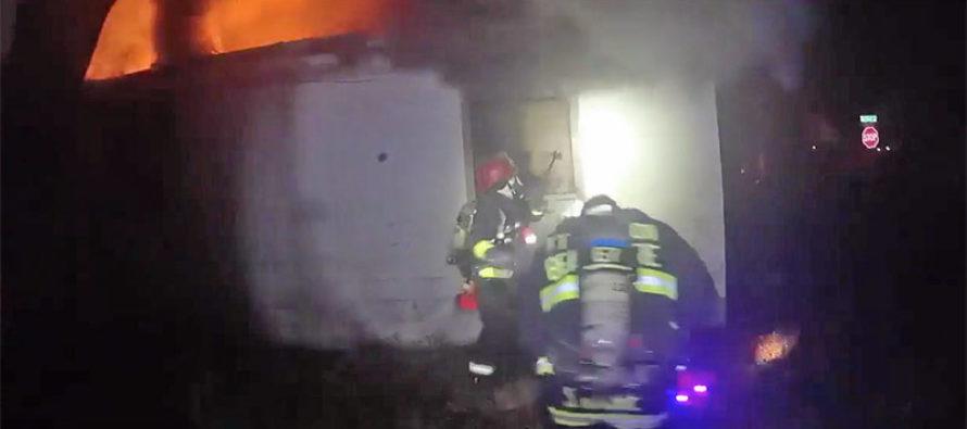 Rescatada mujer atrapada en incendio de vivienda de Fort Walton Beach