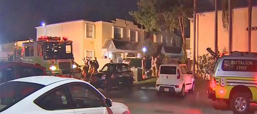 Extinguen un incendio por segunda vez en vivienda de Miami-Dade
