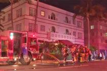 Desalojan hotel en Miami Beach por pequeño incendio