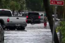 Intensas lluvias causan inundaciones en todo el sur de Florida