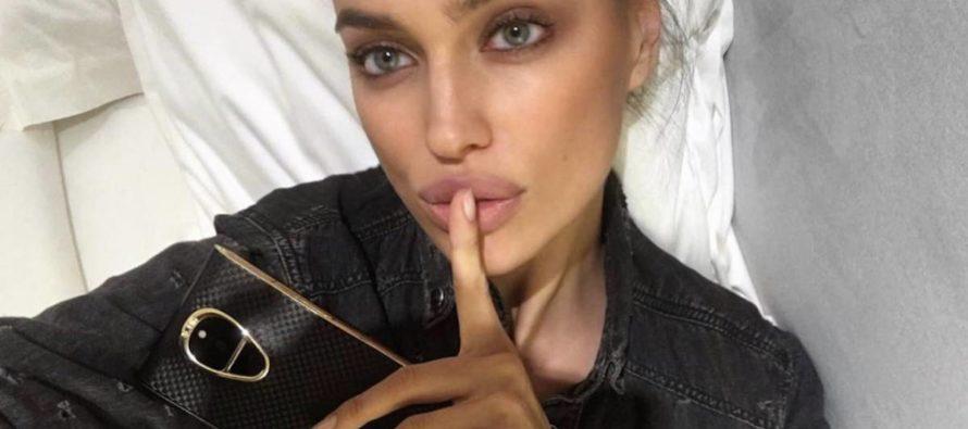 ¡Más sexy que Lady Gaga! Irina Shayk promueve su marca a lo grande