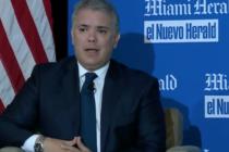 ¿Qué hizo el presidente de Colombia en Miami?