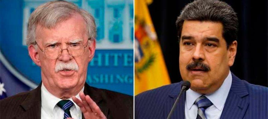 EEUU anunciará en breve nuevas medidas para incrementar presión sobre Nicolás Maduro