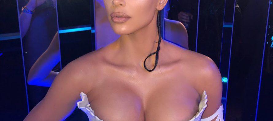 Kim Kardashian volvió hacer de las suyas en las redes sociales