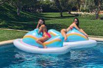Kendall Jenner y Kourtney Kardashian derriten las redes con sus diminutos bikinis