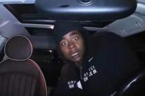 Cara de ladrón tratando de robar un auto provocó un ataque de risa a la víctima (Video)