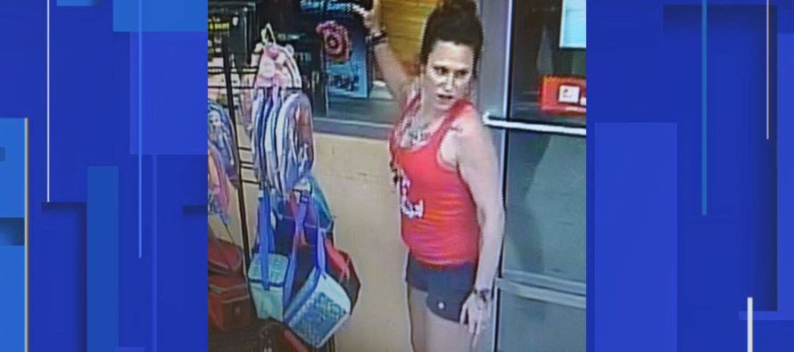 ¡Sólo en Florida! Mujer obstruyó inodoros para robar un Family Dollar (Foto)