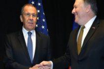 Pompeo reiteró a Lavrov que espera que Rusia retire apoyo a Maduro