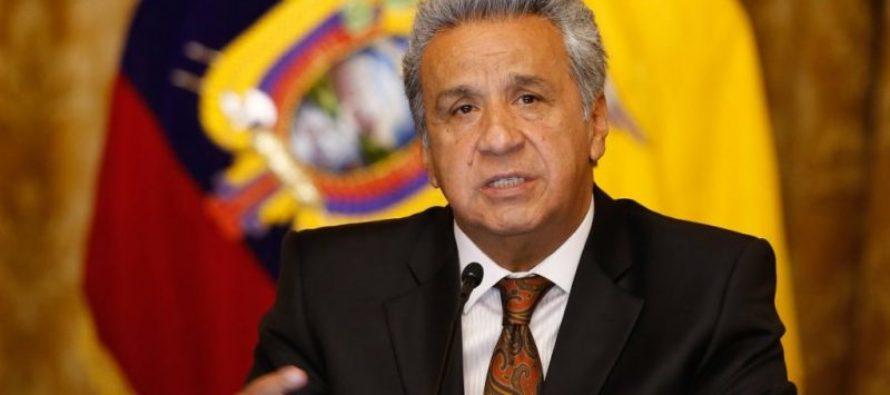 "Lenín Moreno: ""socialistas del siglo XXI han asaltado los recursos de Latinoamérica»"