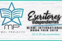 Escritores independientes tendrán la oportunidad de participar en Miami International Book Fair 2019