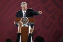 Lopez Obrador denunció que una cámara espía fue hallada dentro del Palacio Nacional