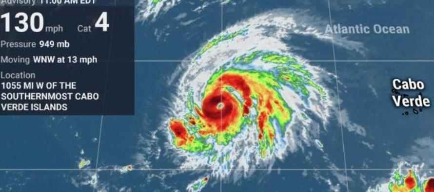El huracán Lorenzo es el más poderoso de los últimos 30 años