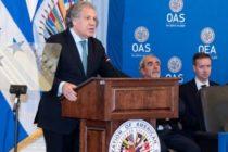 Almagro en jornada de la OEA sobre Venezuela: La corrupción es el eje que viola los DD HH en el país