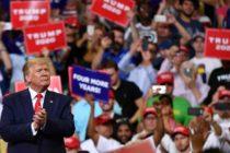 Trump anunció su candidatura para el segundo mandato