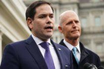 Rick Scott, y Marco Rubio reiteraron su respaldo a Juan Guaidó