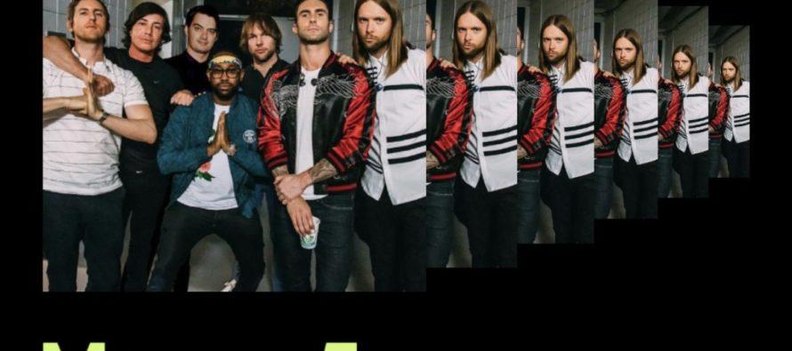 ¡Una buena noticia! La banda Maroon 5 saldrá de gira en 2020